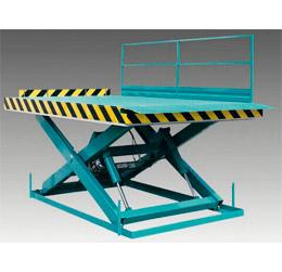 Piattaforme elevatrici ad un pantografo per carico automezzi